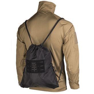 fb29a975839b Mil-Tec Sports Bag Hextac Black - Mökkimies.com