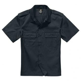 Brandit U.S. Army Shirt Lyhythihainen Musta