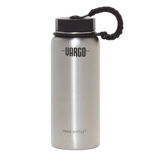 Vargo 1L Stainless Steel Juomapullo Paracordilla
