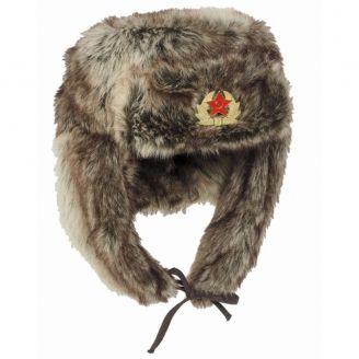 Mil-Tec Venäläinen Ushanka Karvahattu