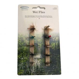 Fladen Wet Flies Set 10pcs
