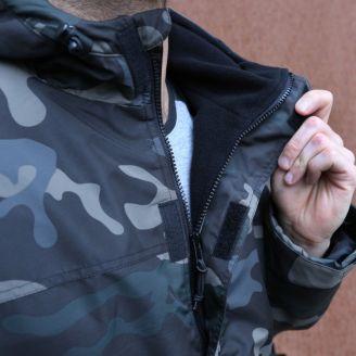 Brandit Windbreaker Frontzip Takki Dark Camo