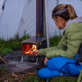 Winnerwell Titanium Tent Stove Fastfold 1.98kg