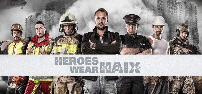 Heroes wear Haix