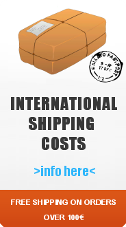 International shipping costs